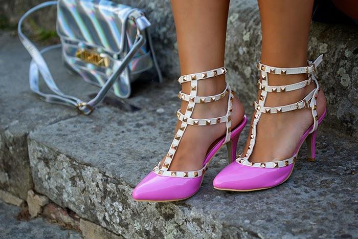 pink rockstuds