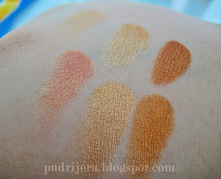 Loreal Glam Bronze Blondes and Brunettes swatch
