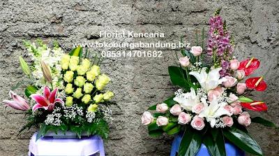 bunga pelantikan pejabat di Jawa Barat
