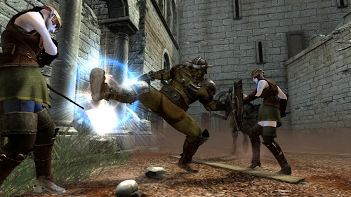 Screen Shot Of Clan Of Champions (2012) Full PC Game Free Download At worldfree4u.com