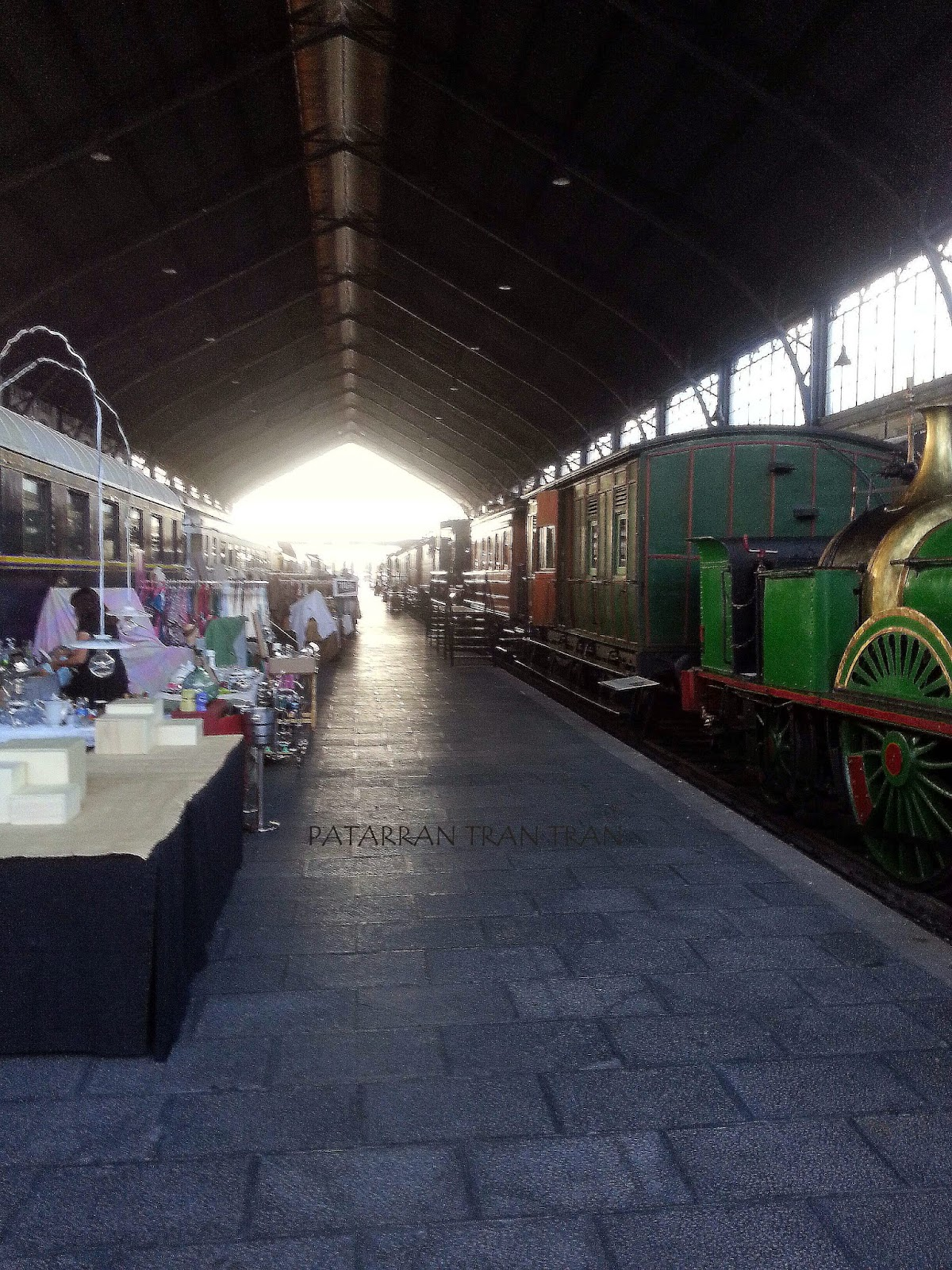 Mercado de Motores, Museo del Ferrocarril, Madrid me mata aunque no siempre,