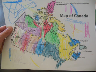 """The Educational Summer Vacation: Studying Canada -- resources, links, printables, and some funny stories about what happened the week I decide dot take my kids on a pretend """"trip"""" to Canada to learn all about Canadian geography, history, and culture.  {posted @ Unremarkable Files}"""
