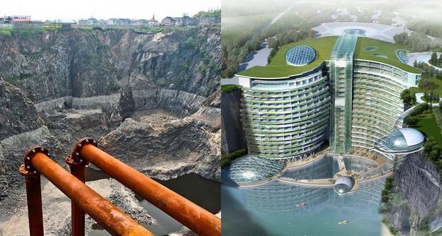 فندق الأرض شنفهاي يتحدى الطبيعه