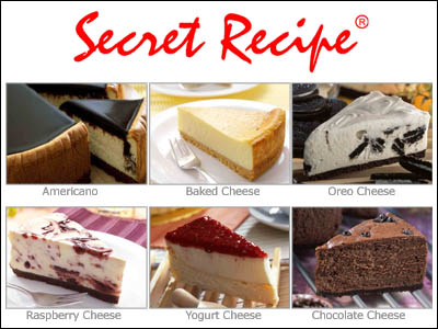 Cake Recipe: Cake Secret Recipe Yang Paling Sedap