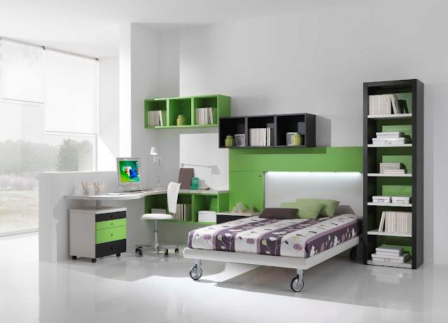 Chambre ado garcon design id es d co pour maison moderne for Couleur chambre ado garcon