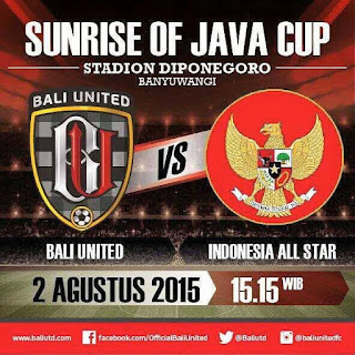 Bali United vs (Timnas U23) Indonesia All-Stars 2015