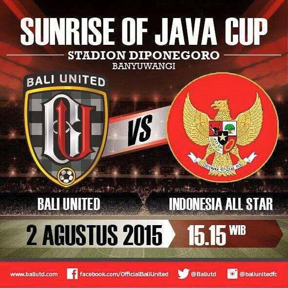 Bali United vs (Timnas U23) Indonesia All-Stars 2015