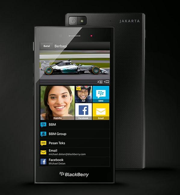 BlackBerry Z3 (Jakarta Edition)