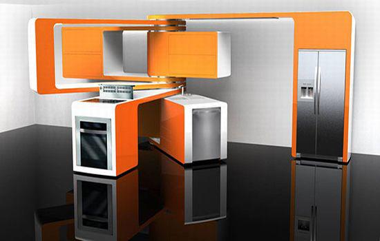 Compacte Design Keuken : Cocinas Futuristas Fotos Ideas para decorar, dise?ar y mejorar tu