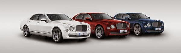 New 2014 Bentley Mulsanne 95th Anniversary