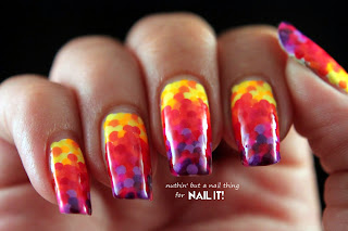 Nail It Mag: Rainbow Fishscale Manicure Tutorial