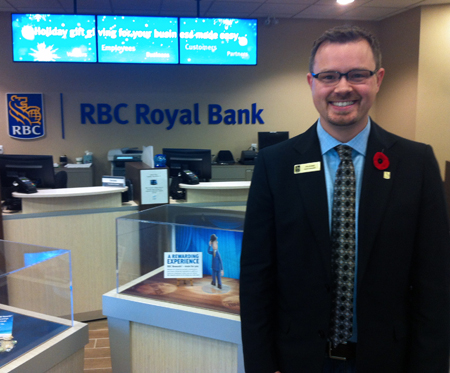 doug commerce business grad takes his training to the bank
