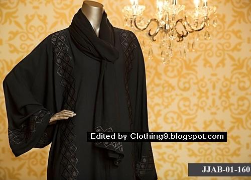 Junaid Jamshed Abayas Designs 2015