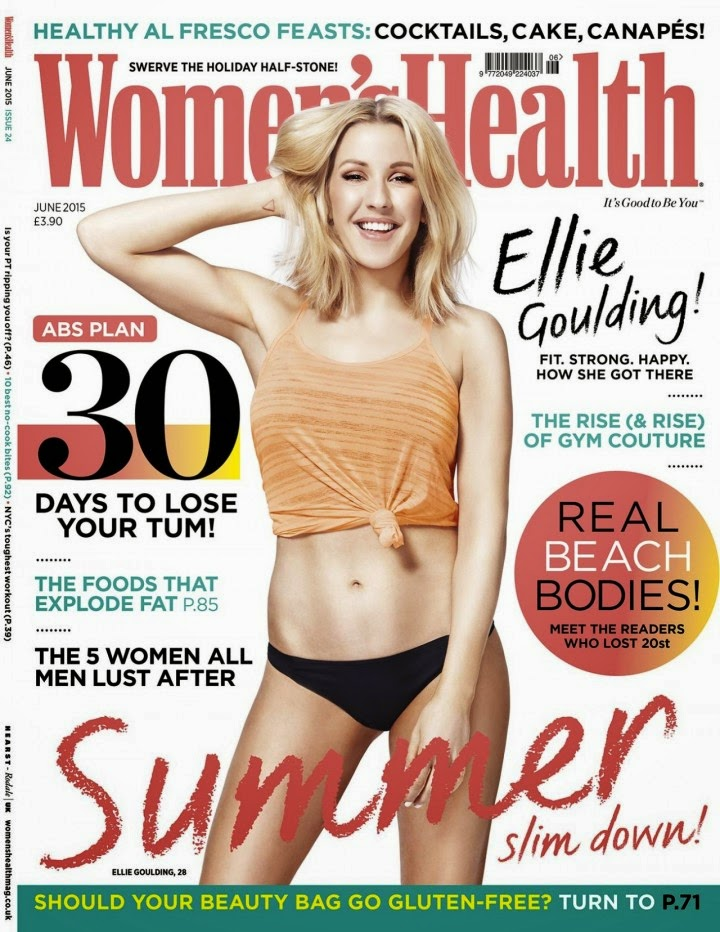 Singer, Musician, Producer @ Ellie Goulding for Women's Health Magazine UK, May 2015