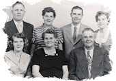 "Maggie Jane (Hutchins) and Willard Richard ""Bill"" Miller Family"
