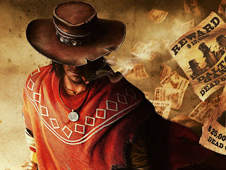 Call of Juarez Bound in Blood Cowboy with Cigarette HD Wallpaper