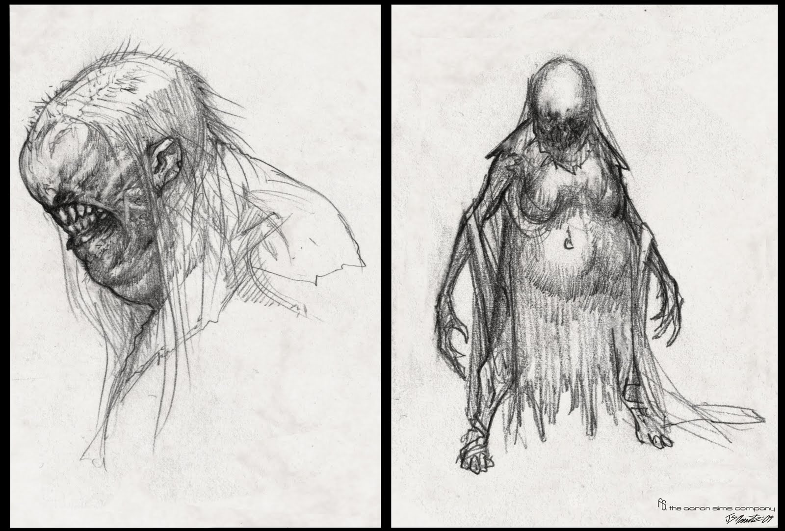 Character and Creature Design Notes: An interview with Jerad S ...