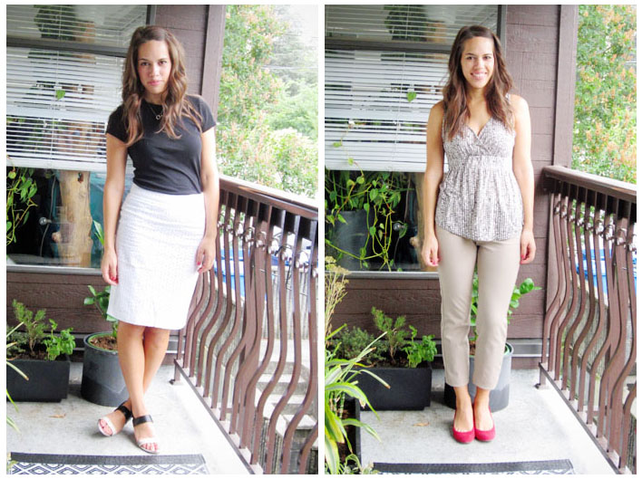 jules in flats - august outfits week 2 - vancouver personal style blogger