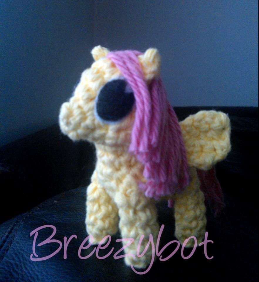 Amigurumi My Little Pony Pattern : Breezybot: FREE PATTERN My Little Pony Inspired Amigurumi