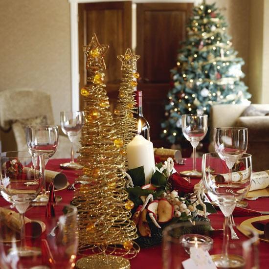 Christmas Decorations For Dining Room Table: Café Mystra: Karácsonyi Délután Egy Angol ökoházban