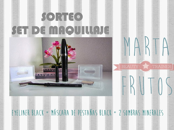 Sorteo set de maquillaje de Marta Frutos Beauty Trainer