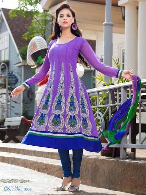 Designer Anarkali Salwar Kameez, Fancy Embroidery Anarkali Salwar Suits in Ahmadabad