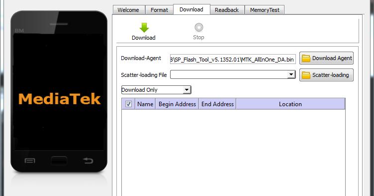 Flash Tool V 3.1312.0.150