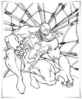 Spiderman ausmalbilder - Coloriage venom ...
