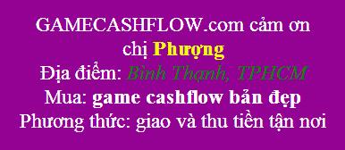 game cashflow quận Bình Thạnh