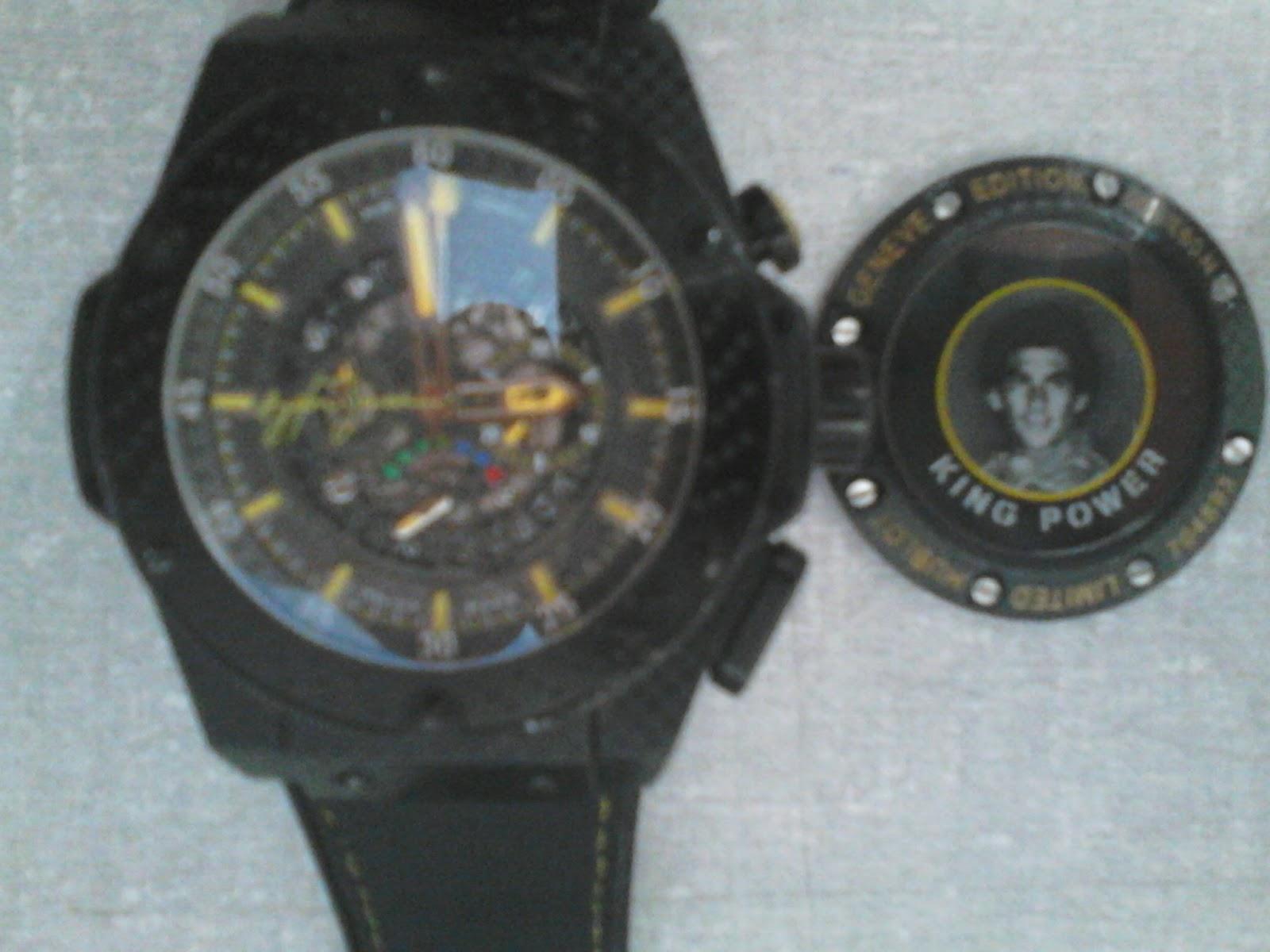 bb2154fdf08 Relógio HUBLOT Airton Senna king power.