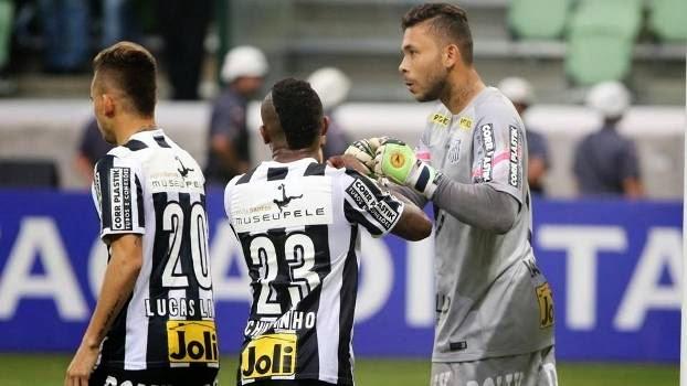 """Santos """"comemora"""" derrota e mantém a confiança para o jogo na Vila Belmiro"""