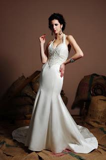 Eden Bridals Halter Wedding