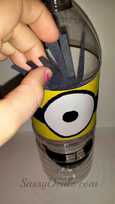 despicable me minino water bottle craft for kids