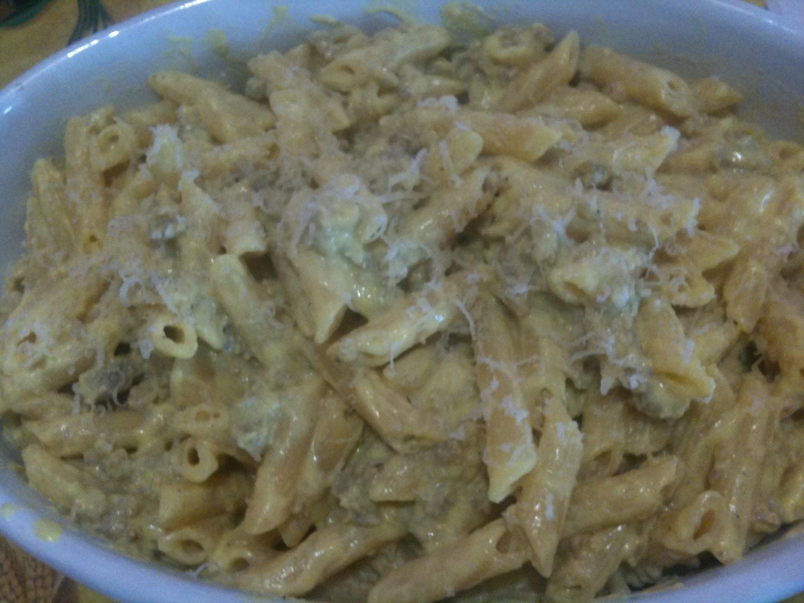 Ricetta pasta e salsiccia in bianco