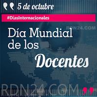 Día Mundial de los Docentes #DíasInternacionales