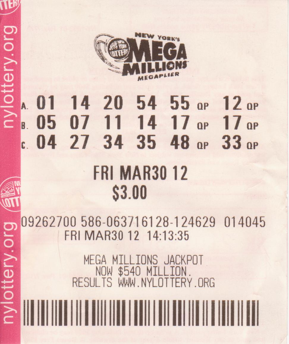 Learning CurveWinning Lottery Ticket Mega Millions