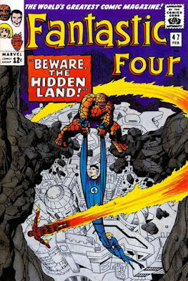 Fantastic Four #47, Hidden Land