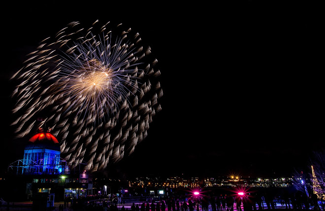 2016 - Feux sur Glace Natrel - Feux d'Artifice Orion