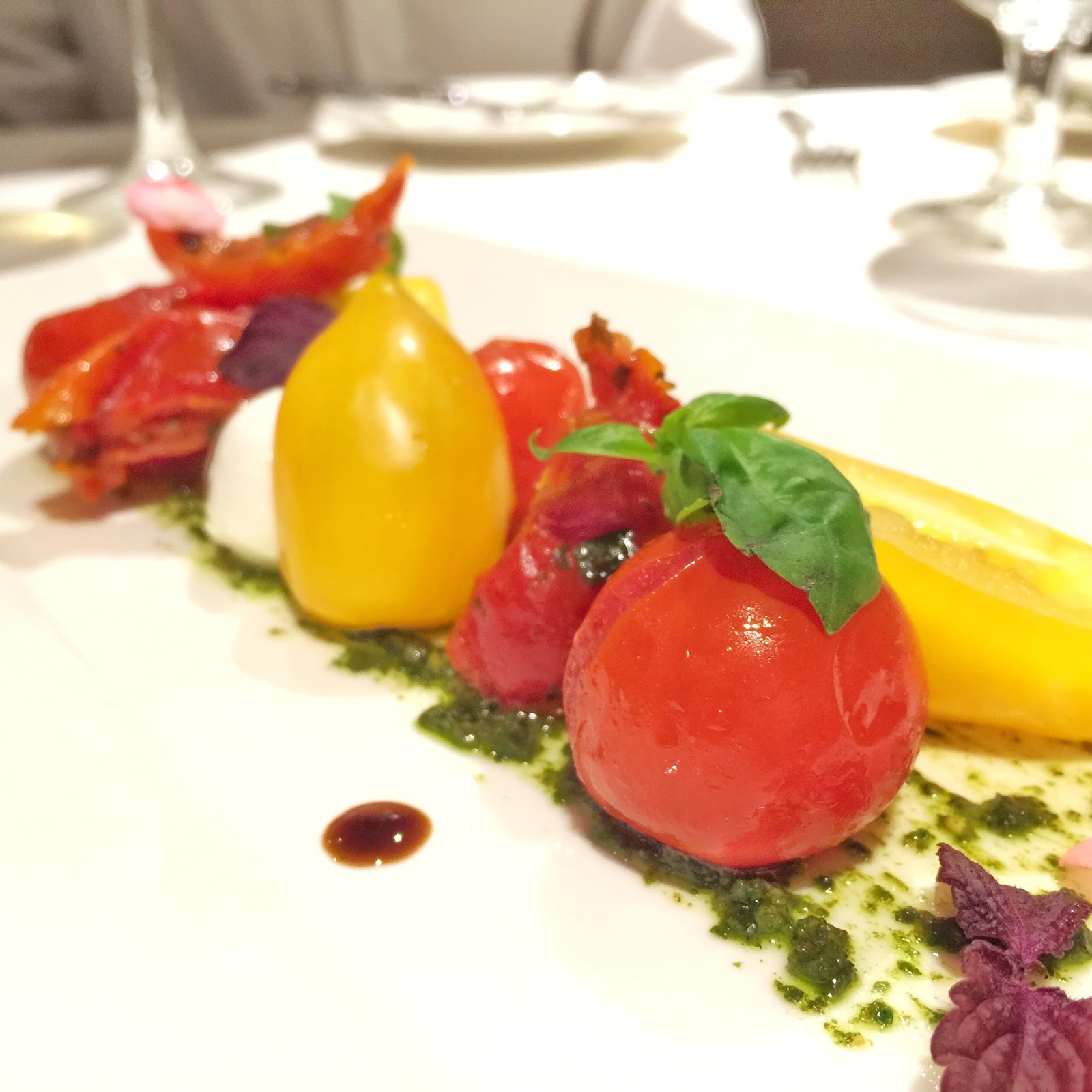 The Royal Mail Singapore - Trio of Tomatoes