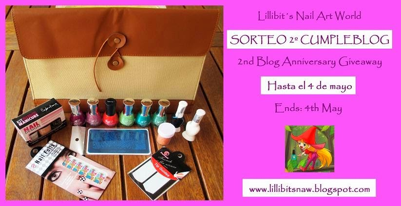 sorteo 2º cumpleblog lillibit's nail at world
