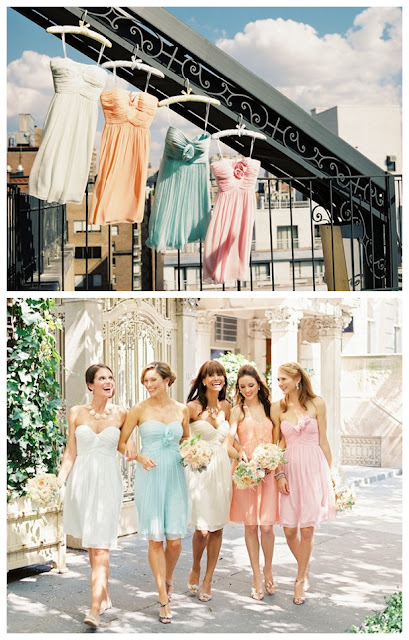 Colorful Wear Again Bridesmaid Dresses 01