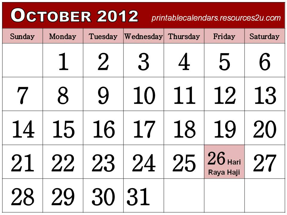 Free Homemade Calendars 2011 and 2012: Free Singapore Calendar ...