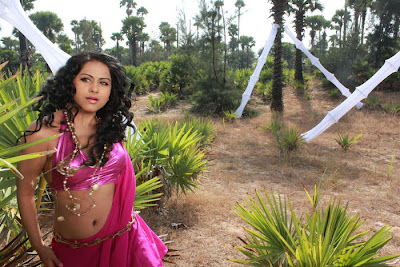Tamil Actress Rachana Mourya Hot Navel show Pictures