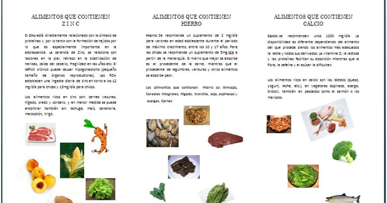 Cuidarse para tener una buena salud alimentos que - Alimentos que tienen calcio ...