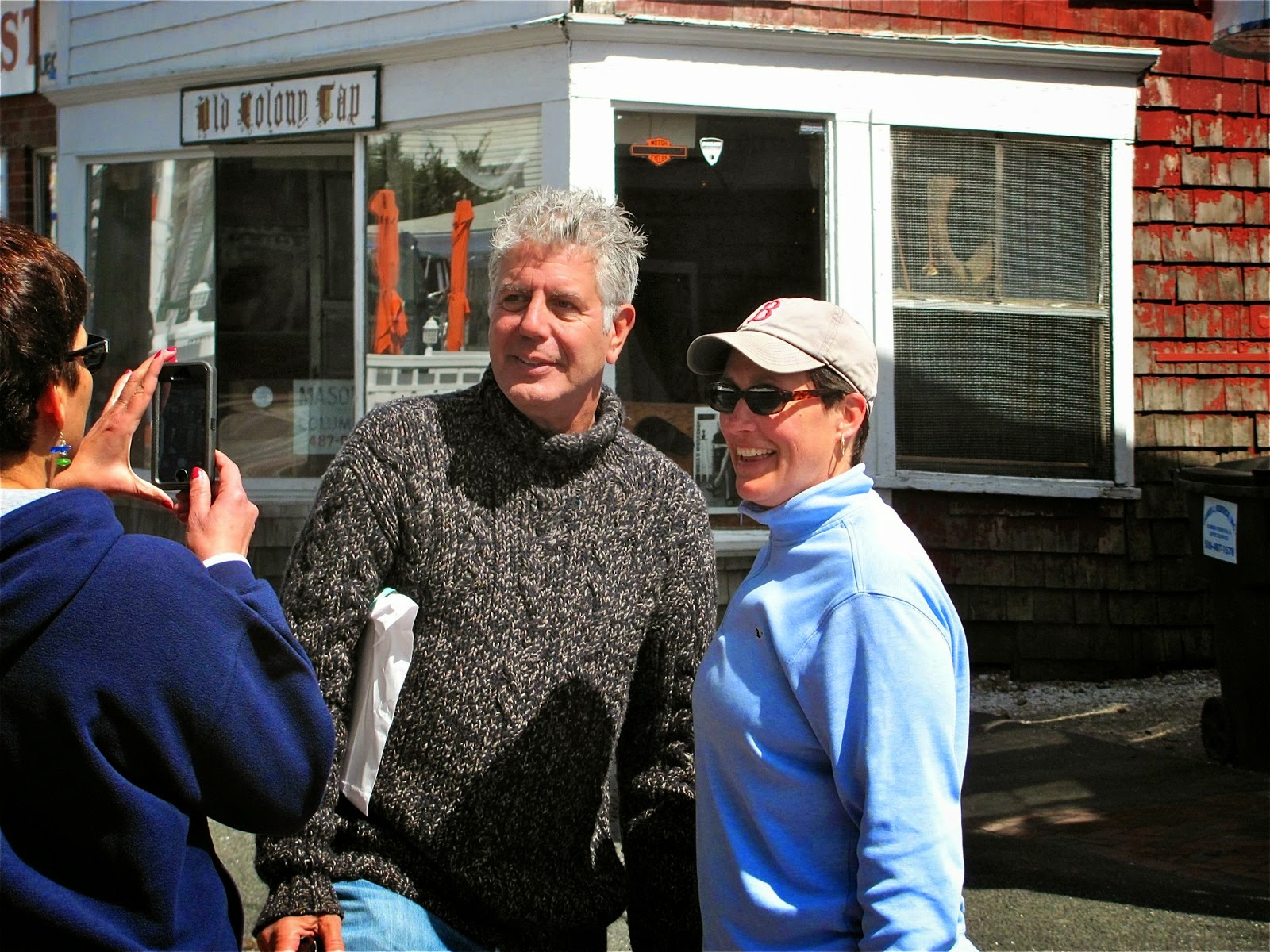 Famous foodie Anthony Bourdain's kitchen career began in Provincetown, and soon we'll see it on TV
