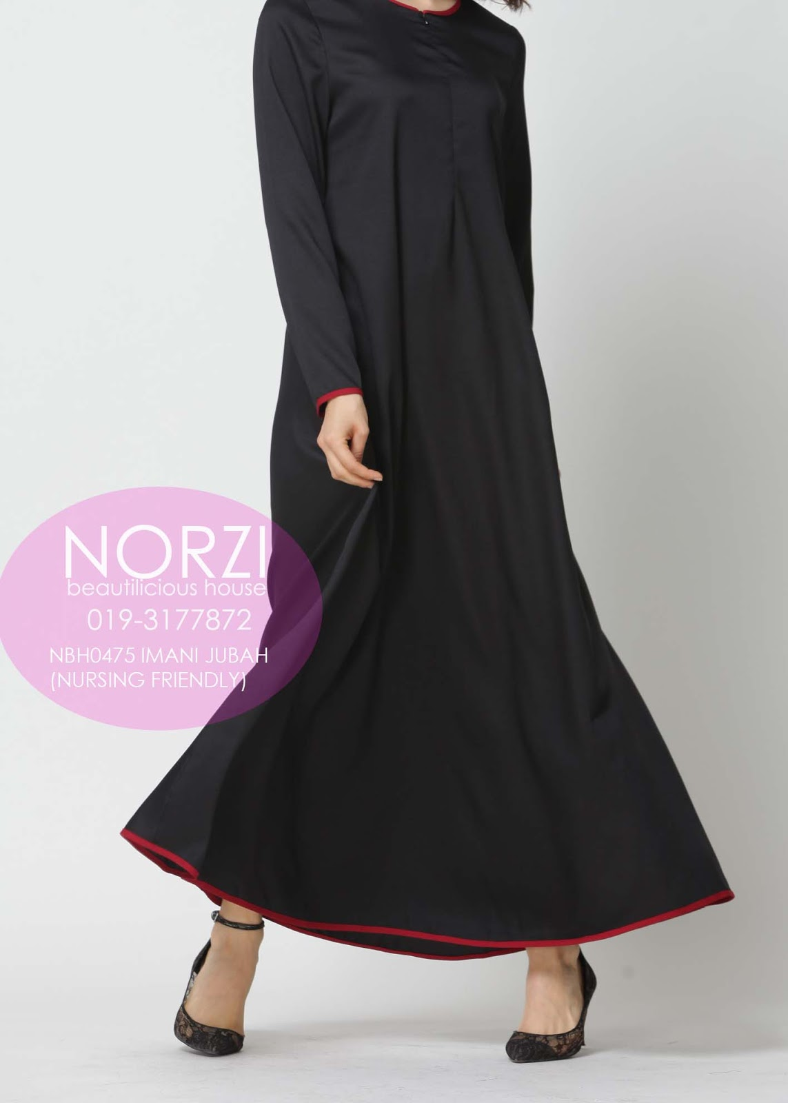 Norzi Beautilicious House Nbh0475 Imani Jubah Nursing