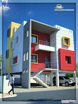 Design House Ground Floor Plan with Parking