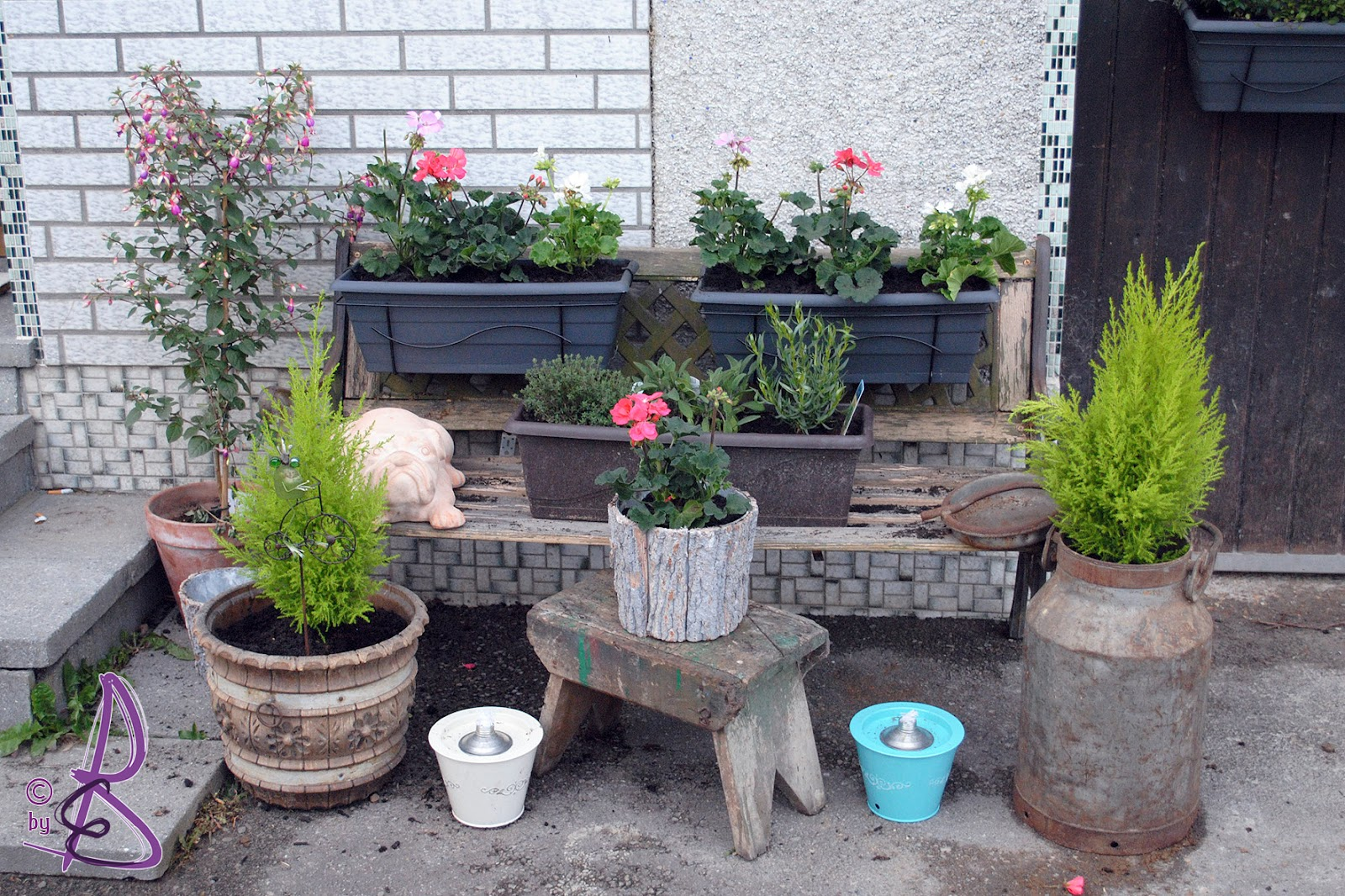 ... Kreativ Werkstatt: Kreativideen für den Garten, bitte Nachmachen