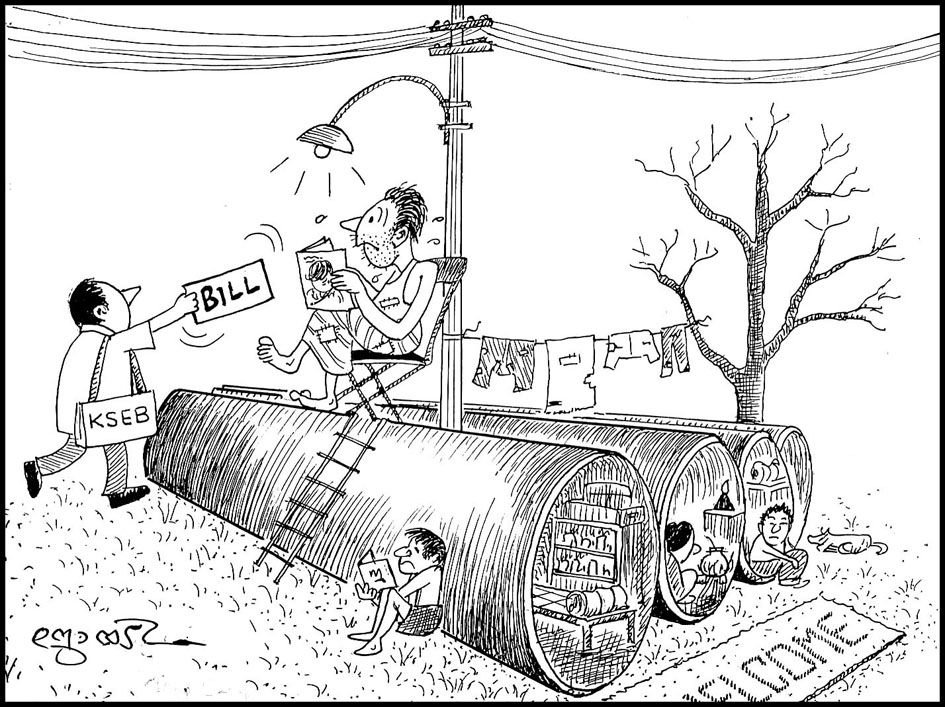 Cartoonist Joy Kulanada Sri Joy Kulanada The Veteran