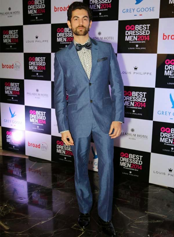Neil Nitin Mukesh At GQ India's Best Dressed Men 2014 Awards